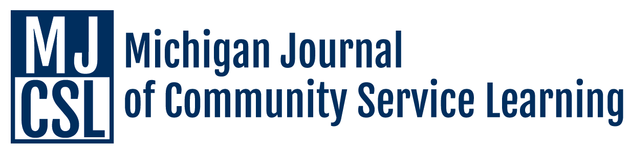 Michigan Journal of Community Service Learning